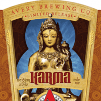 avery karma belgian pale ale label