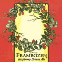 new belgium frambozen label
