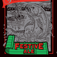 SweetWater Festive Ale 2012 label
