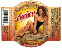 IC Amber 12oz Body Label