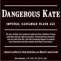 Below Grade Dangerous Kate American Imperial Black Ale
