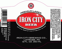 Iron City 12oz NR Body Label