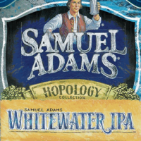 Samuel Adams Whitewater IPA body label