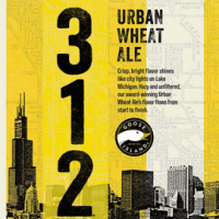 Goose Island 312 Urban Wheat Ale label