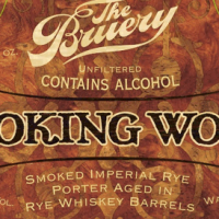The Bruery Smoking Wood Rye Whiskey Barrel-aged Imperial Smoked Porter