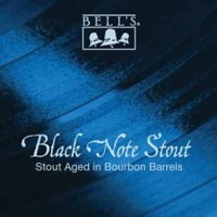 Bell's Black Note Stout label