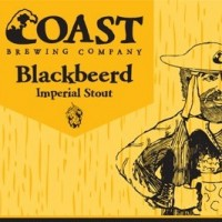Coast Blackbeerd Imperial Stout label