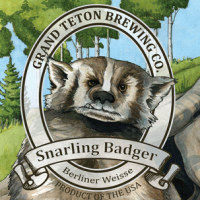 Grand Teton Snarling Badger Berliner Weisse