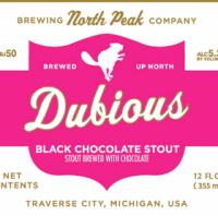 North Peak Dubious Black Chocolate Stout