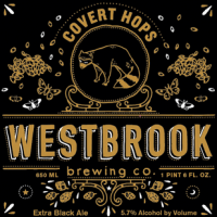 Westbrook Covert Hops Black Ale