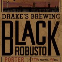 Drake's Black Robusto Imperial Porter
