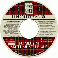 Bunker Hopscotch Scottish Ale