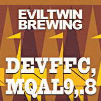 Evil Twin Devffc, Mqal9,.8 Ale label