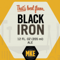 Milwaukee Black Iron label