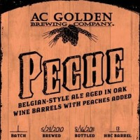 AC Golden Peche Wine Barrel-Aged Belgian Ale