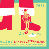 Mikkeller Wine Barrel-aged Santa's Little Helper Belgian Ale
