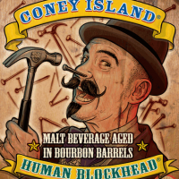 Coney Island Bourbon Barrel-aged Human Blockhead Imperial Bock