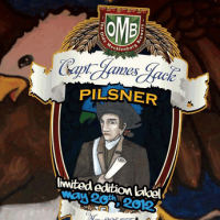 Olde Mecklenburg Captain James Jack Pilsner