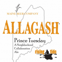 Prince Tuesday: A Neighborhood Collaboration Ale (Allagash Rising Tide)