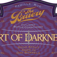 The Bruery Tart of Darkness Sour Stout