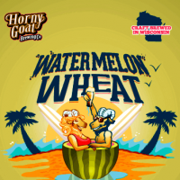 Horny Goat Watermelon Wheat Beer