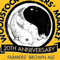 Rock Art Woodstock Farmers' Market 20th Anniversary Brown Ale