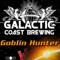 Galactic Coast Goblin Hunter Halloween Ale