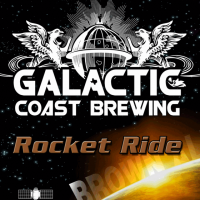 Galactic Coast Rocket Ride Brown Ale