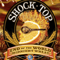 Shock Top End of the World Midnight Wheat Ale