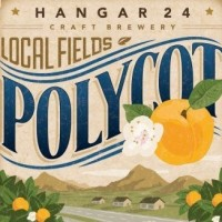 Hangar 24 Polycot Wheat Wine label