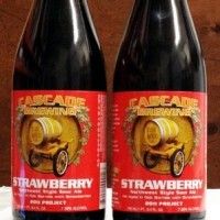 cascade strawberry sour ale bottle