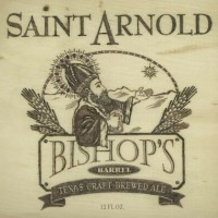 Saint Arnold Bishops Barrel Bourbon Barrel Aged Imperial Stout