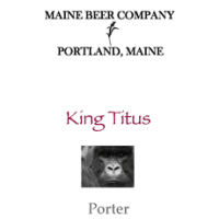 maine beer co king titus porter