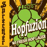 Sprecher Hopfuzion WI Fresh Hop Lager