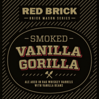 Red Brick Smoked Vanilla Gorilla label