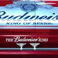 budweiser king of beers casket