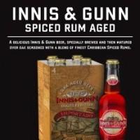 innus and gunn spice aged rum