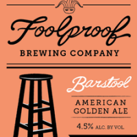 Foolproof Barstool American Golden Ale