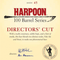 Harpoon Director's Cut Ale