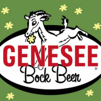 Genesee Bock Beer label