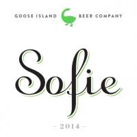 Goose Island Sofie label