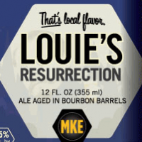 Milwaukee Louie's Resurrection Bourbon Barrel Aged Amber Ale