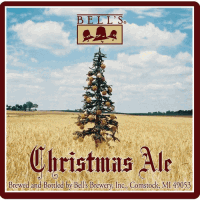 bells christmas ale label