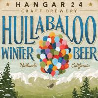 hangar 24 hullabaloo winter beer label