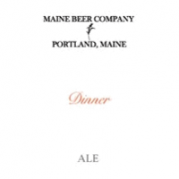 maine beer co dinner ale label