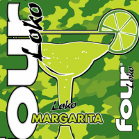 Four Loko Margarita can label
