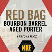 Milwaukee Red Bag Bourbon Barrel Aged Porter