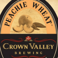 Crown Valley Peachie Wheat Peach Beer