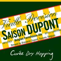 Saison Dupont Cuvee Dry Hopping label
