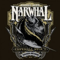Sierra Nevada Barrel-Aged Narwhal BeerPulse label
